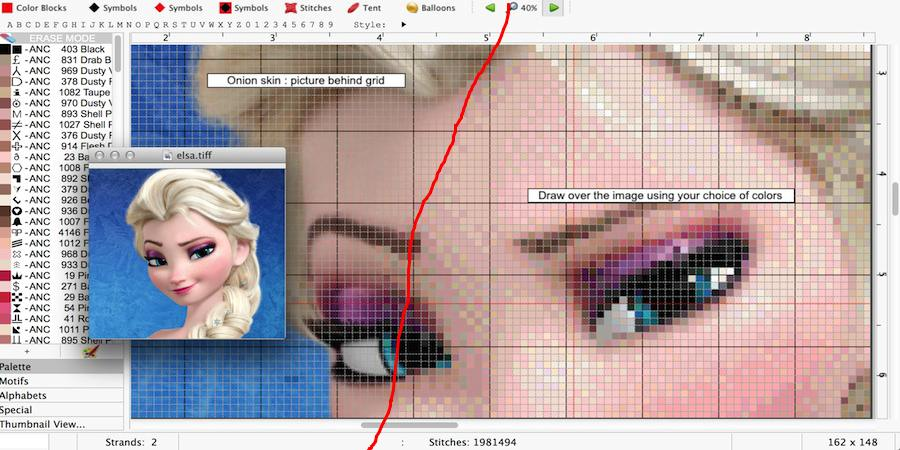 How To Make Cross Stitch Patterns On Computer